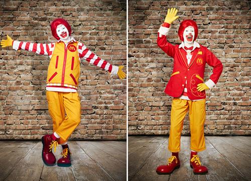 Ronald McDonald makeover